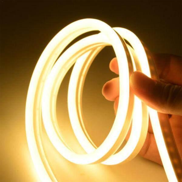 Dải Đèn Led Linh Hoạt DC12V 2835 Đèn Neon Không Thấm Nước Đèn Ống Silicon 3M 9 8 Ft 360led Đèn