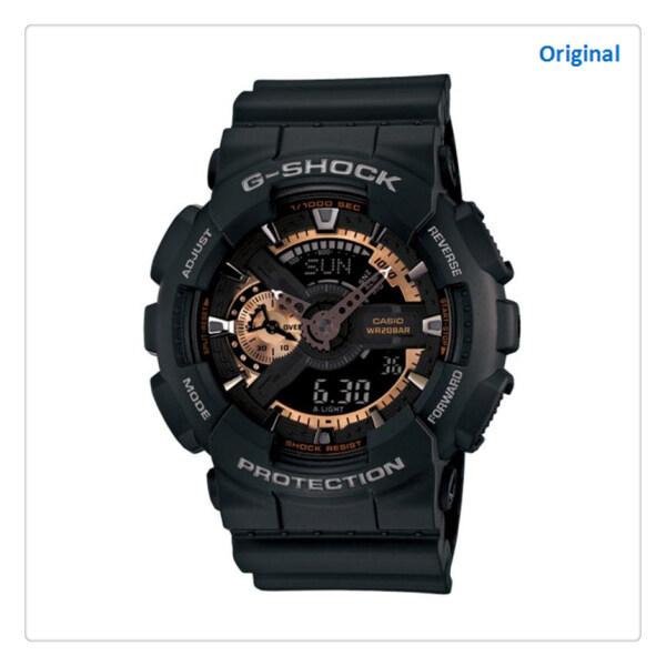 [100% Original G SHOCK] G Shock Special Color Models Series Black Resin Watch GA110RG-1A GA-110RG-1A (watch for man / watch man / watch for men / watch / men watch / watch for men) (ready stock) Malaysia
