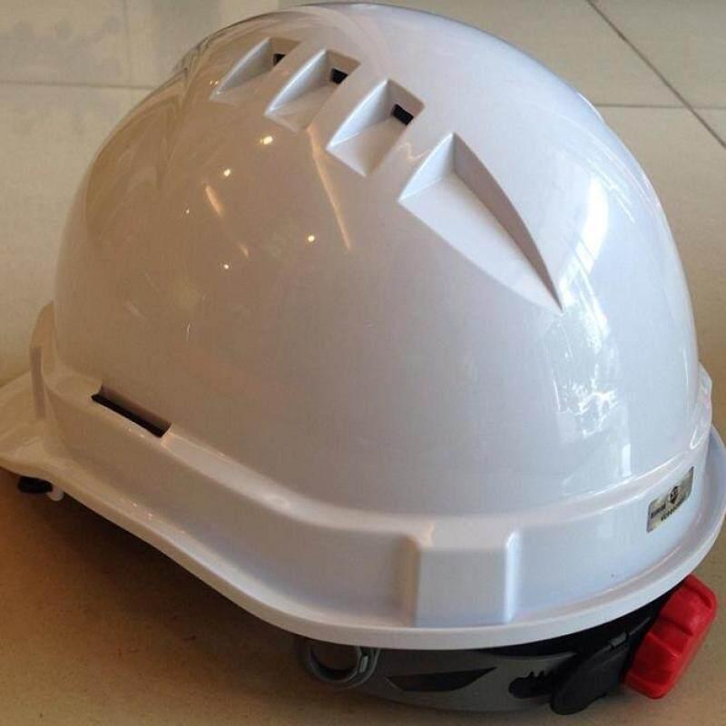 Stealth Lock Safety Helmet (White)
