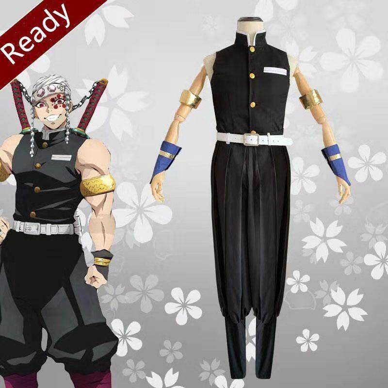 Kimetsu no Yaiba cosplay costumes Anime Demon Slayer Uzui Tengen cosplay costume party pretend play