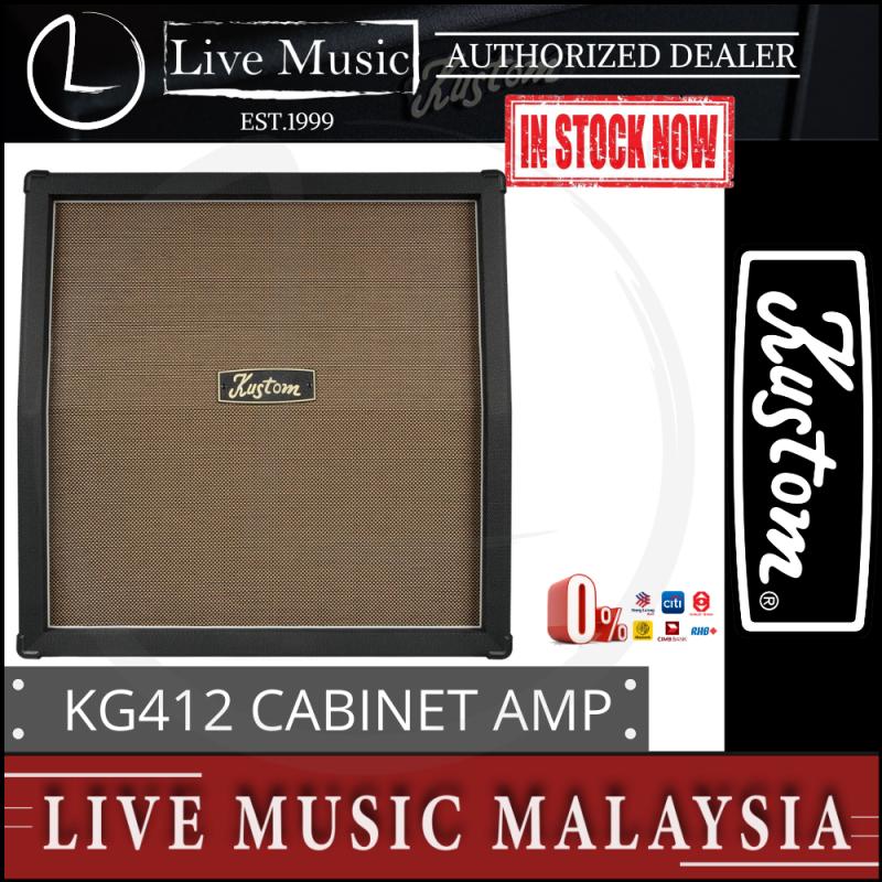 Kustom KG412 4X12 Classic Cabinet Amplifier (KG412-Classic) Malaysia