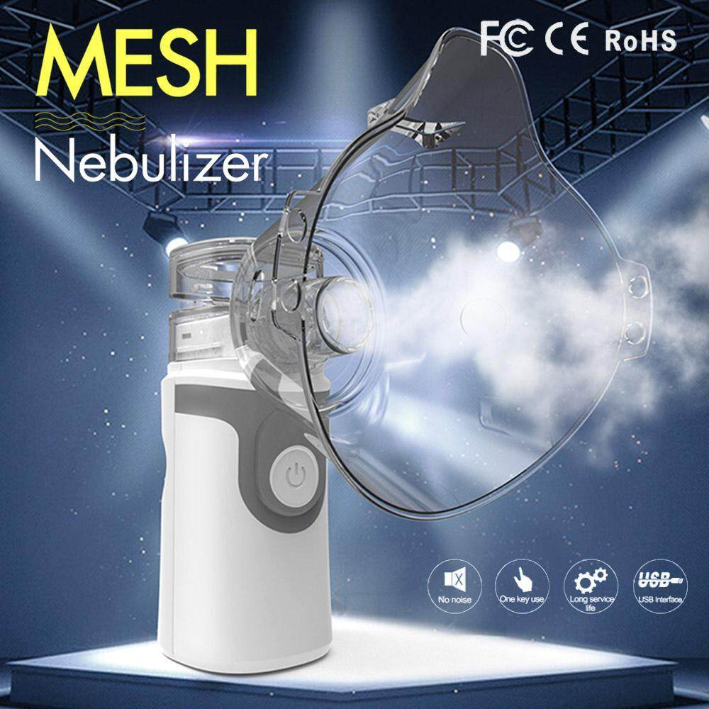 Aolvo Portable Nebulizer Inhaler Mist Mesh Steam Compressor Ultrasonic  Humidifier for Kids Men, Daily Home Use Cure