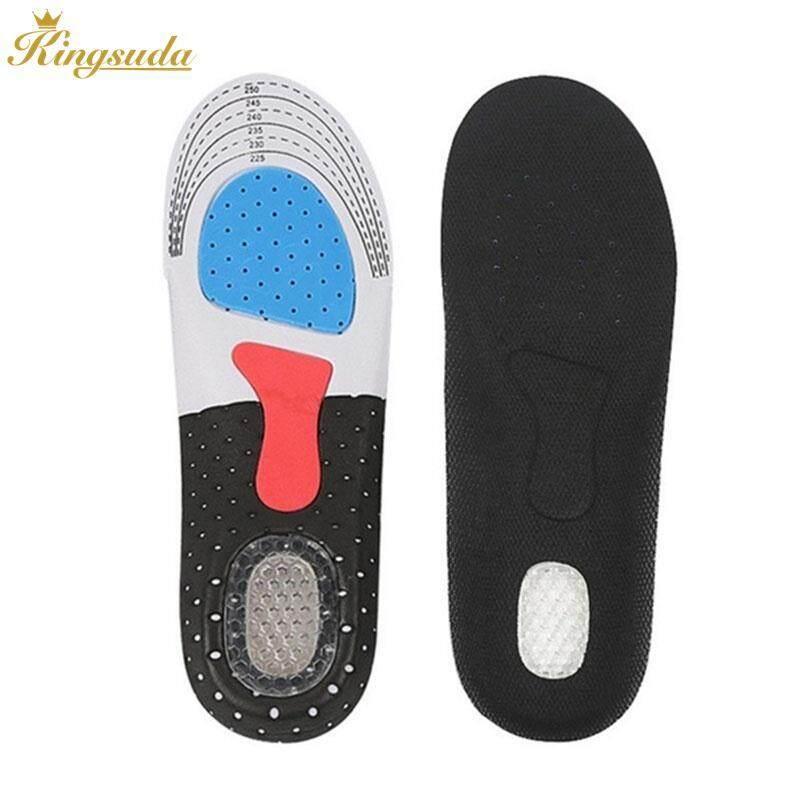 Kingsuda พื้นรองเท้า Silica แผ่นเจลรองรองเท้าสบาย 2 ขนาด 2 Pcs Healthy Motion By Kingsuda Store.