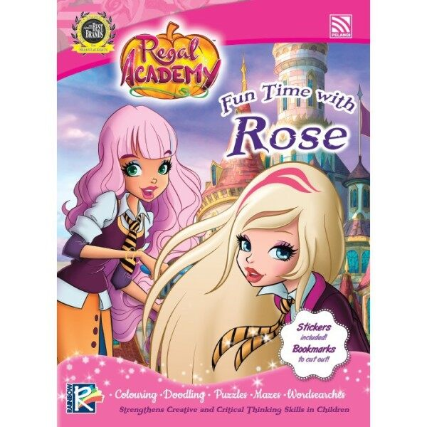 REGAL ACADEMY(WITH STICKERS, COLOUR BOOK) - FUN TIME WITH Rose Pelangi Publishing Malaysia