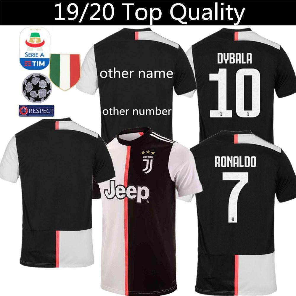 huge discount 53f9a c0d8e Top quality 19/20 Juventus Football Jersey Ronaldo 7 DYBALA 10