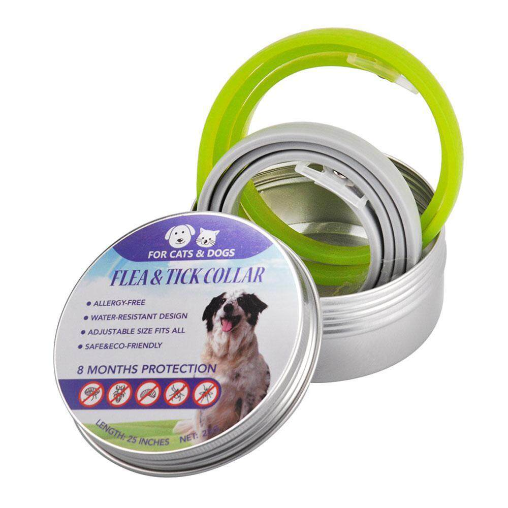 Nicetoempty Flea & Tick Collar For Cats - Fits Small Medium And Large Cats - Safe And Anti Allergy Formula With Natural Extracts That Repell Fleas - Flea Tick Treatment And Prevention For 8 Months Plus Flea Comb By Nicetoempty.