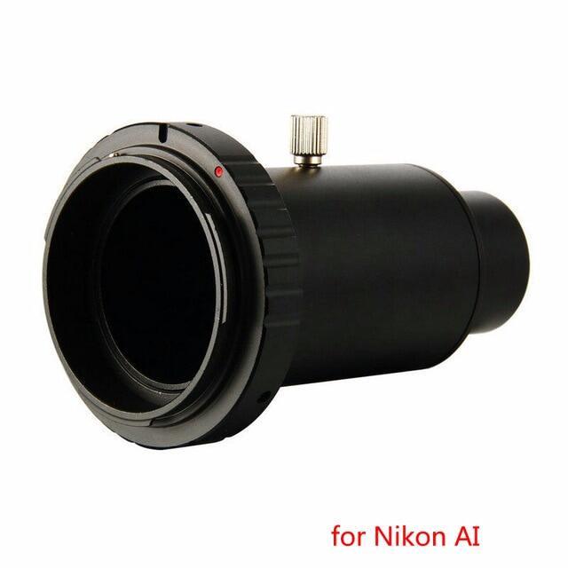 Bộ Chuyển Đổi Gắn Kính Thiên Văn 1.25  Bằng Kim Loại + Mở Rộng Ống + Bộ Chuyển Đổi Máy Ảnh T Vòng Dành Cho Máy Ảnh DSLR Nikon AI Canon EOS Sony AF