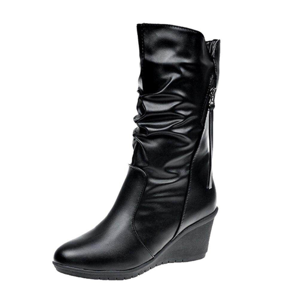 f7e2f2996f High Quality Fashion Women Boots Platforms Zapatos Mujer PU Leather Thigh  High Pump Boots Motorcycle Shoes
