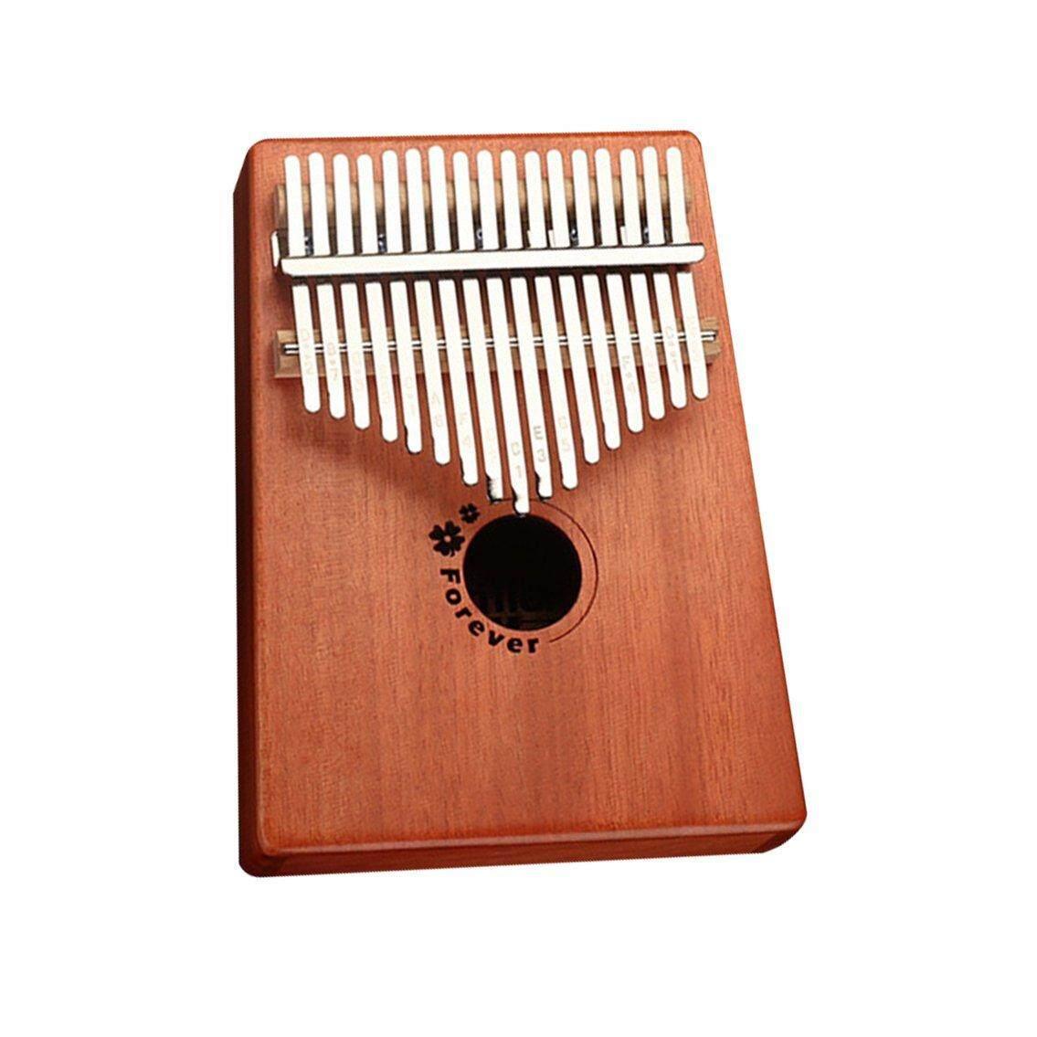 DOIT Gỗ Gụ Ngón Tay Cái Đàn Piano Kalimba Ngón Tay Piano Di Động Nhạc Cụ Kalimba