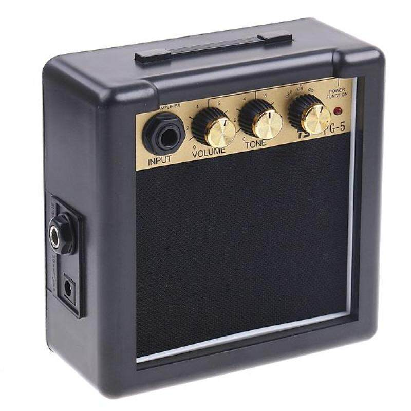 PG-5 5W Electric Guitar Amp Amplifier Speaker Volume Tone Control (hot) Malaysia