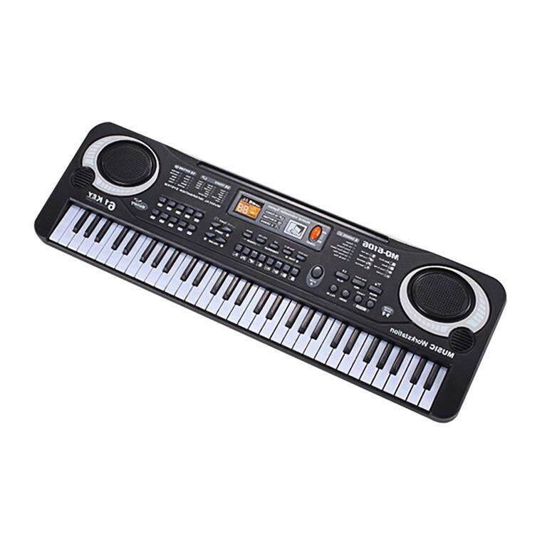 Hàng đầu Bán 61 Phím Bàn phím Piano điện tử Có Mic Trẻ Em Nhạc Cụ