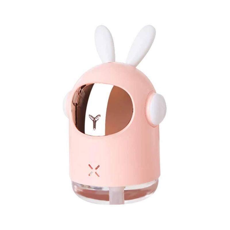 leegoal New Space Rabbit Humidifier Home Aromatherapy Mini Humidifier USB Water Purifier Night Light Singapore