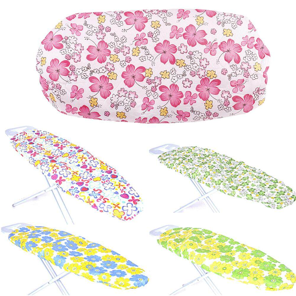 Heat Resistant Reusable Home Floral Print Elastic Edge Washable Exquisite Replacement Lightweight Protective Ironing Board Cover