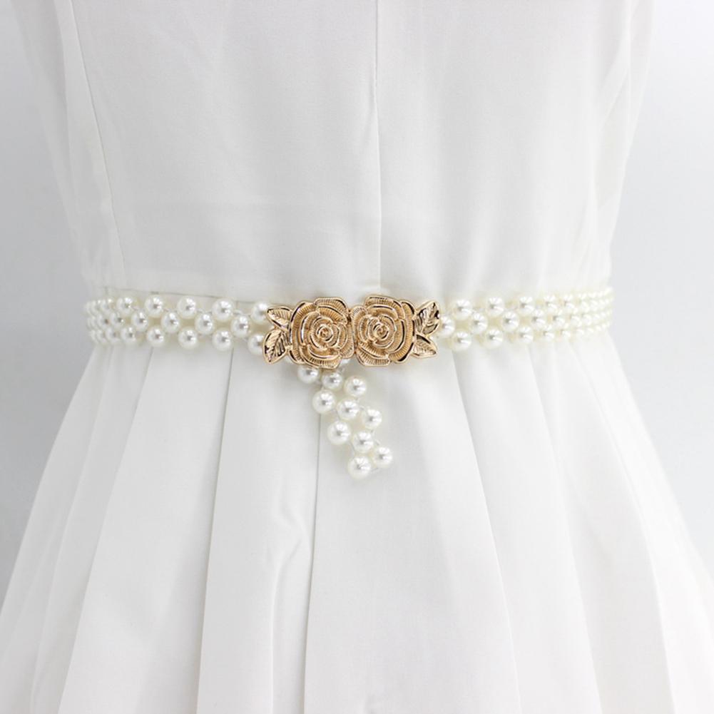 Dây Đai Nịt Thắt Lưng Mặc Đầm Dây Co Giãn Và Ôm Sát Eo Đính Đá Ngọc Trai 8 Phong Cách Đẹp Và Thời Trang Dành Cho Nữ