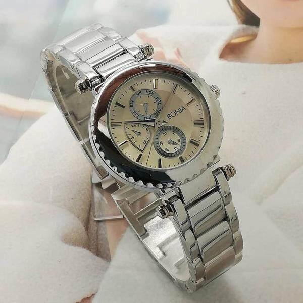 B0nia Watch Quartz Movement Stainless Steel Strap Fashion Ladies Watch Malaysia