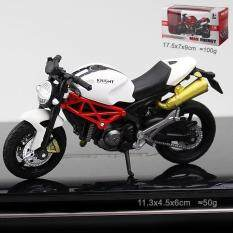 1:18 Scale Ducati Motor Motorcycle Sport Car Model Toys Diecast Model Toy Vehicle Metal Alloy Super Car Toy for Kids
