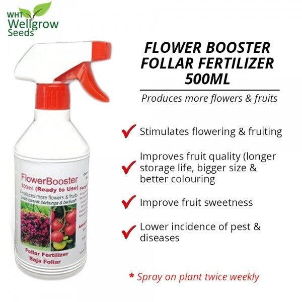 WHT Wellgrow #23852525 Flower Booster Ready To Use 500ML