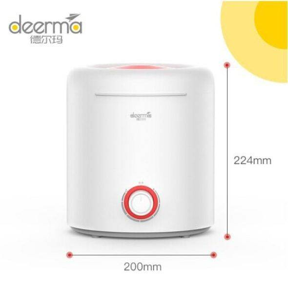 Deerma F300 Air Humidifier / Aroma Diffuser (Fill In Water From Top Tank 2.5L) or + Deroma Essential Oil [New Arrival] (Accompanying Malaysia 3-pin plug) Singapore