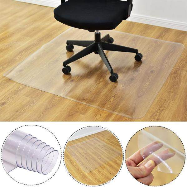 Home Floor Protector Mat Transparent Nonslip Rectangle for Home Office Rolling Chair