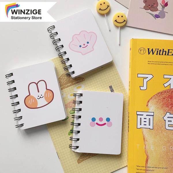 Winzige Sổ Tay Ins A7 CuộN Nhật Ký Trắng Dễ Thương Văn Phòng Phẩm Học Sinh