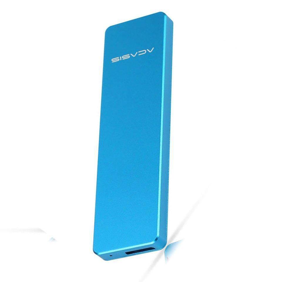 Bán Chạy nhất cứng SSD hộp nhôm hợp kim USB 2242 2260 2280 đa năng M2/NGFF SANG USB 3.0 SSD
