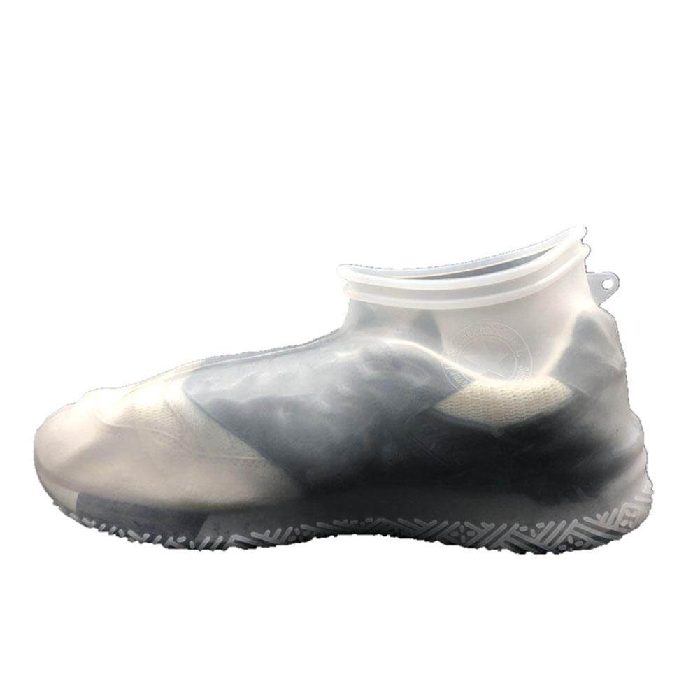 39817a771aa00e Reusable Thicken Waterproof Hiking Protective Rain Non Slip Silicone Shoe  Cover
