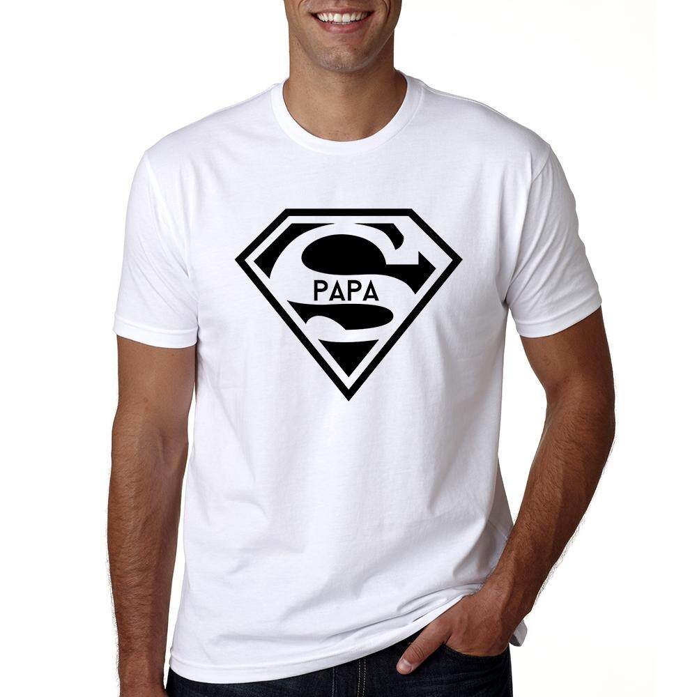 096ec452f1d China. 2019 Super Papa T-shirt Fathers Day Gift New Dads Funny T Shirt Best  Dad