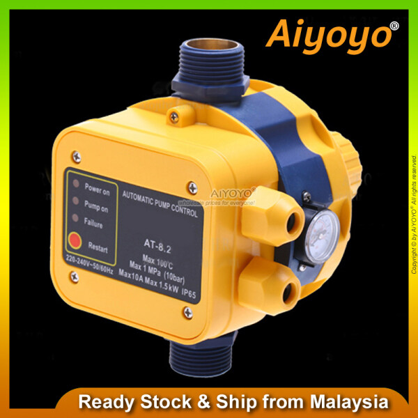 Automatic Water Pump Press Control Controller Switch Pressure Pumps Electric Electronic