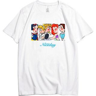 Girls Republic Thời Trang Phong Cách Hàn Quốc Phụ Nữ Của Casual Loose Họa Tiết Chữ In Ngắn Tay Áo T-Shirt thumbnail