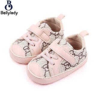 BellyLady Giày Trẻ Sơ Sinh, Thời Trang Mềm Mại Giày Chập Chững Biết Đi Giày, Giày Thể Thao Chống Trượt thumbnail