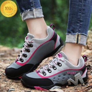 Giày Đi Bộ Đường Dài Giày Đôi Nữ Giày Đi Bộ Đường Dài Giày Thể Thao Nam Nữ Giày Leo Núi Giày Cắm Trại Ngoài Trời Giày Thể Thao Đế TPR Giày Thể Thao Nữ thumbnail