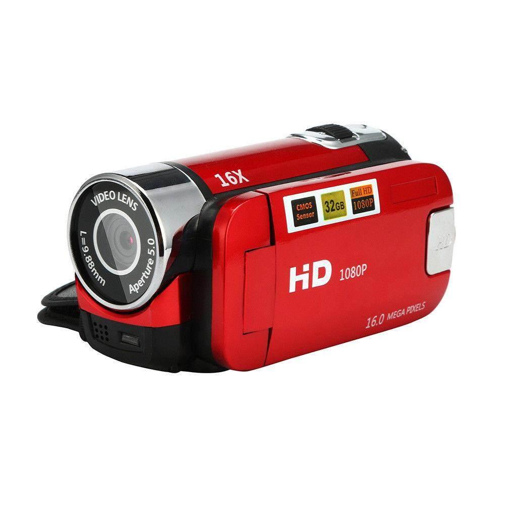 Máy Quay Video Kỹ Thuật Số Thu Phóng 16X Màn Hình LCD HM 2.7 Inch, Máy Ảnh Kỹ Thuật Số Cầm Tay HD