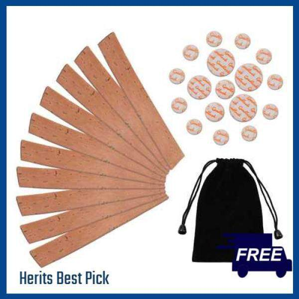 HERITS HOT ITEM Clarinet Neck Joint Cork and Pad Set 10 Piece of Clarinet Neck Joint Cork 17 Piece Clarinet Pads for Bb Clarinet (Standard) Malaysia