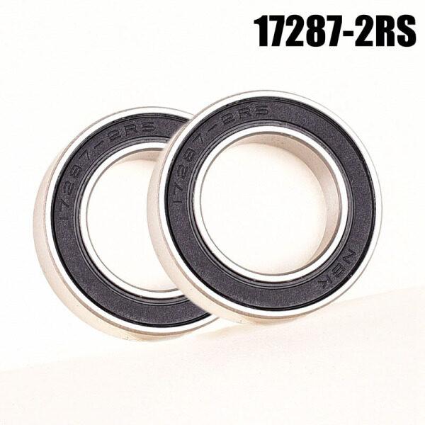 Mua 17287-2rs Xe Đạp Xe Đạp trung tâm kim loại vòng bi gốm lai cho koozer qty 2 miếng