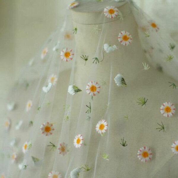 Bảng giá Coolcook Váy cưới cô dâu thêu hoa tự làm 91*130cm Lưới vải trang trí ren Điện máy Pico