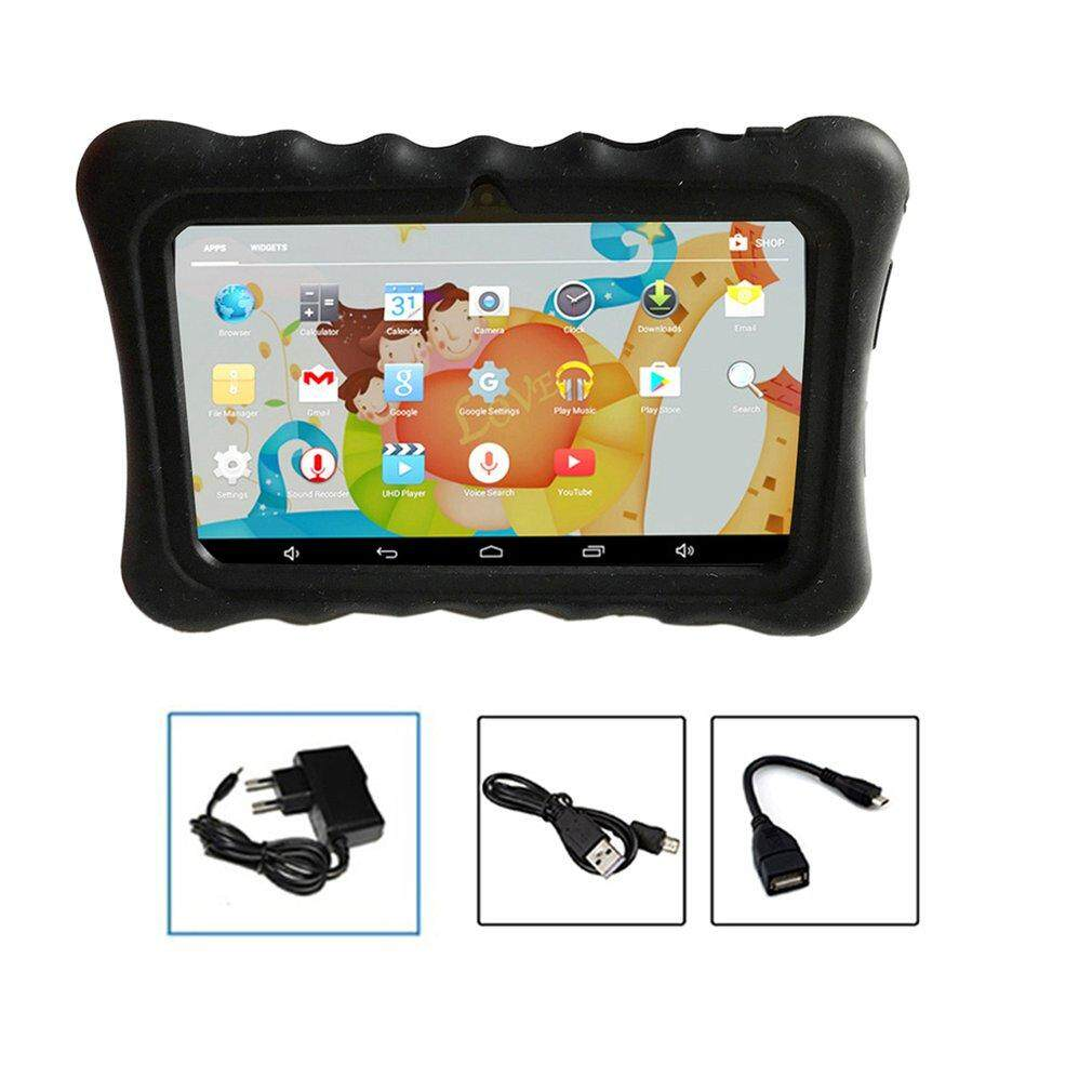GOOD 7 Inch Children Tablet Android 4.4 Quad Core 512M+8GB Tablet PC EU Type
