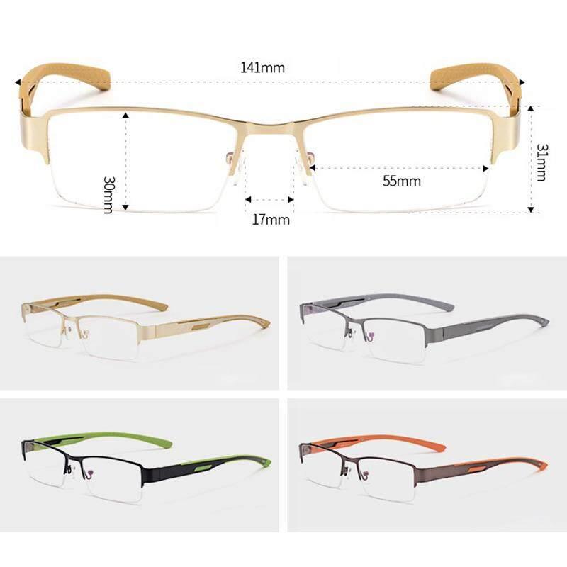 Intelligent anti-fatigue progressive color change multi-focus reading glasses ultra-light resin sheet reading glasses men's far and near dual-use 200 degree
