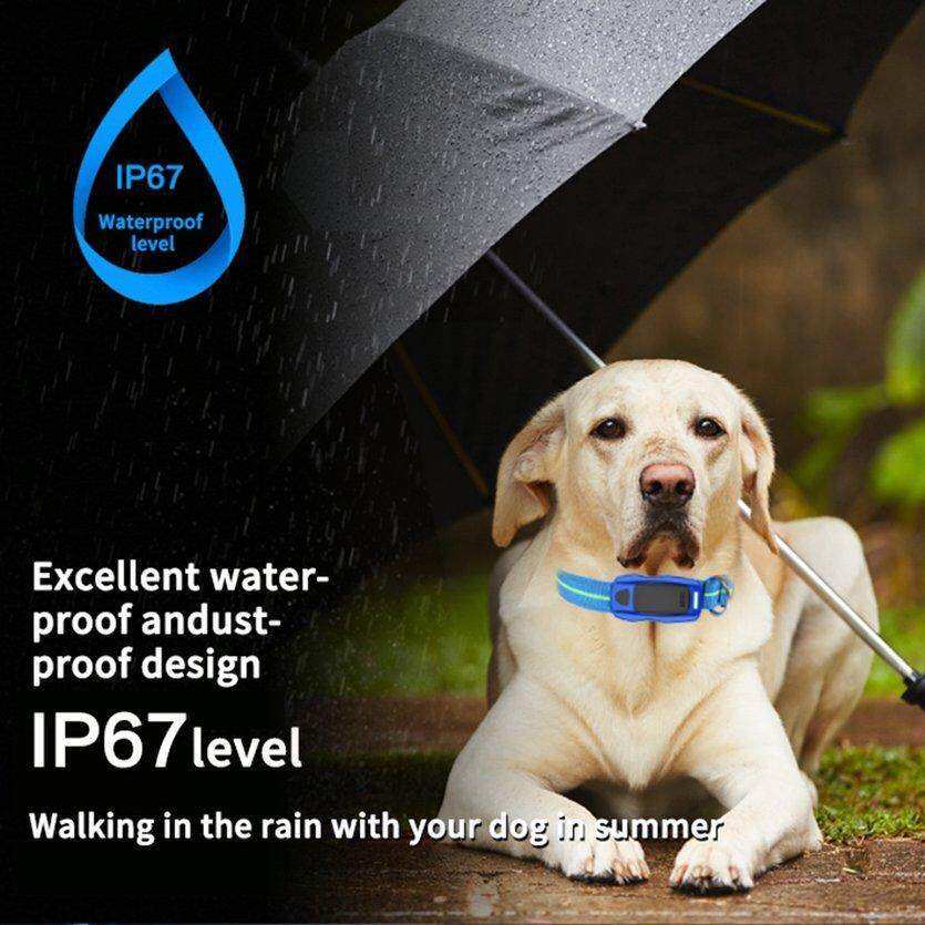 Dog Pet GPS GSM Smart Tracker Safety Real Time Tracking Location Antilost Collar
