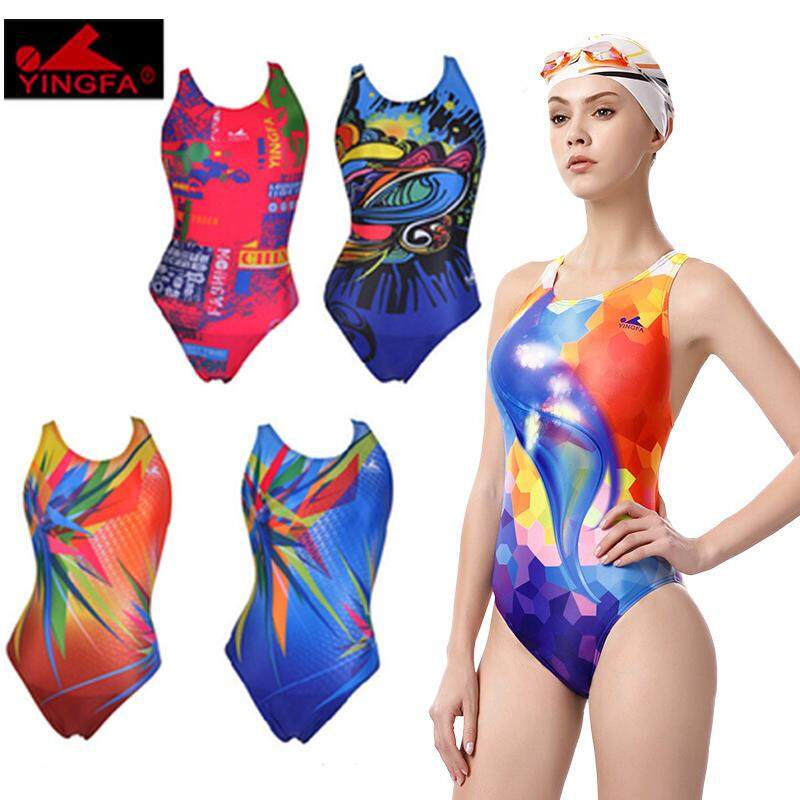 9a544ba67a74a Yingfa Profession Bathing Suit Female Joined Bodies Belly Covering Sexy  Backless Belly Covering Conservative Racing Training