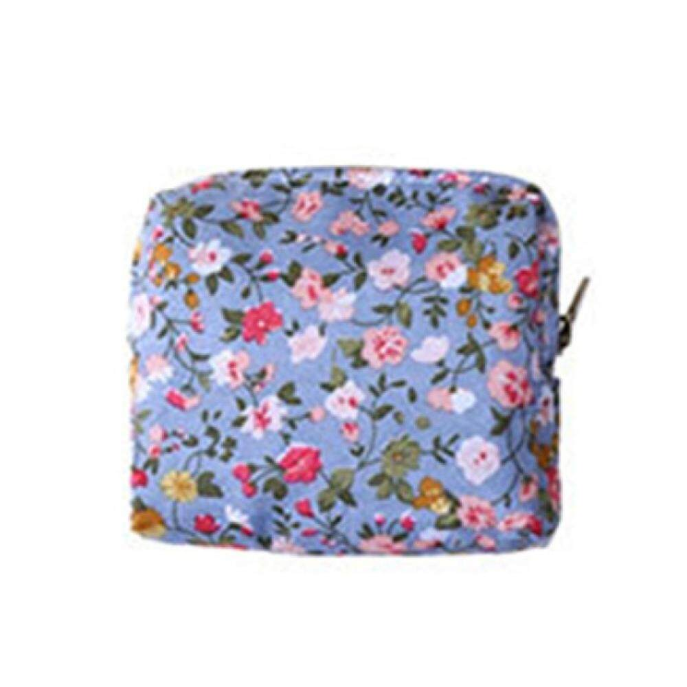 Women Coin Purse Flower Printing Ladies Small Wallet Pocket Headset Line  Pouch Credit Card Holder Lipstick Bag Girl Gift