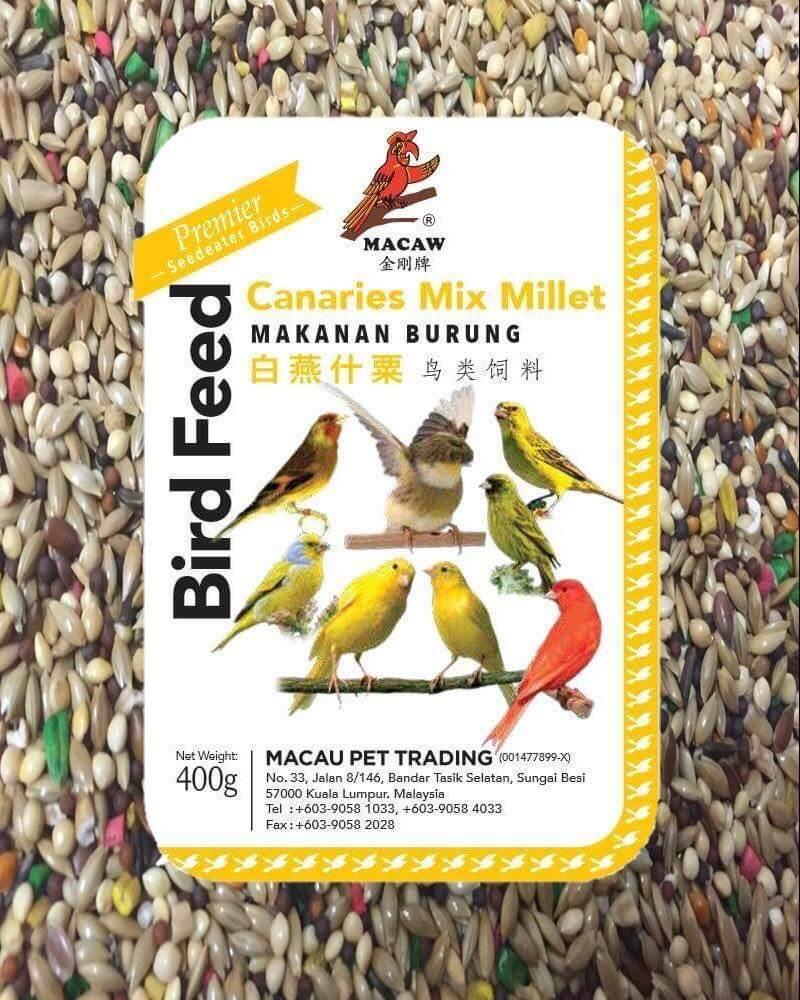 Mix Canary Seed Millet For Small Pets Song Singing Birds Food Makanan Haiwan Peliharaan Burung Pet Food Canary Bird Food Parrot Food Parakeet Food Makanan Burung Makanan Parrot Makanan Parakeet Makanan Haiwan Makanan