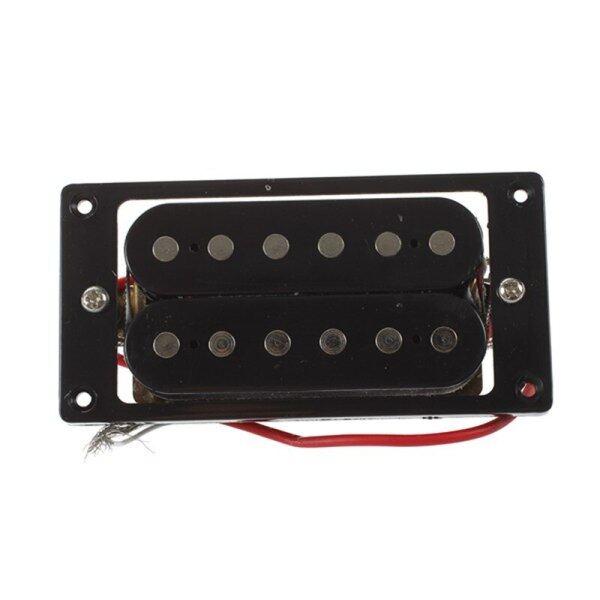 2 Chiếc (1 Bộ) Pickup Guitar Điện Cuộn Đôi Màu Đen Humbucker + Vít Khung
