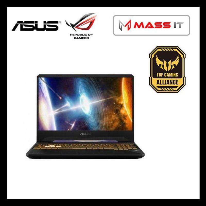 ASUS FX505G-EES241T TUF Gaming Gold Steel (i7-8750H/GTX1050Ti 4GD5/8GB D4 2666MHz/1TB 7200RPM + 128GB PCIe 3x2 NVMe M.2 SSD/15.6 144hz IPS FHD/WIN10/2 Years Warranty) Malaysia