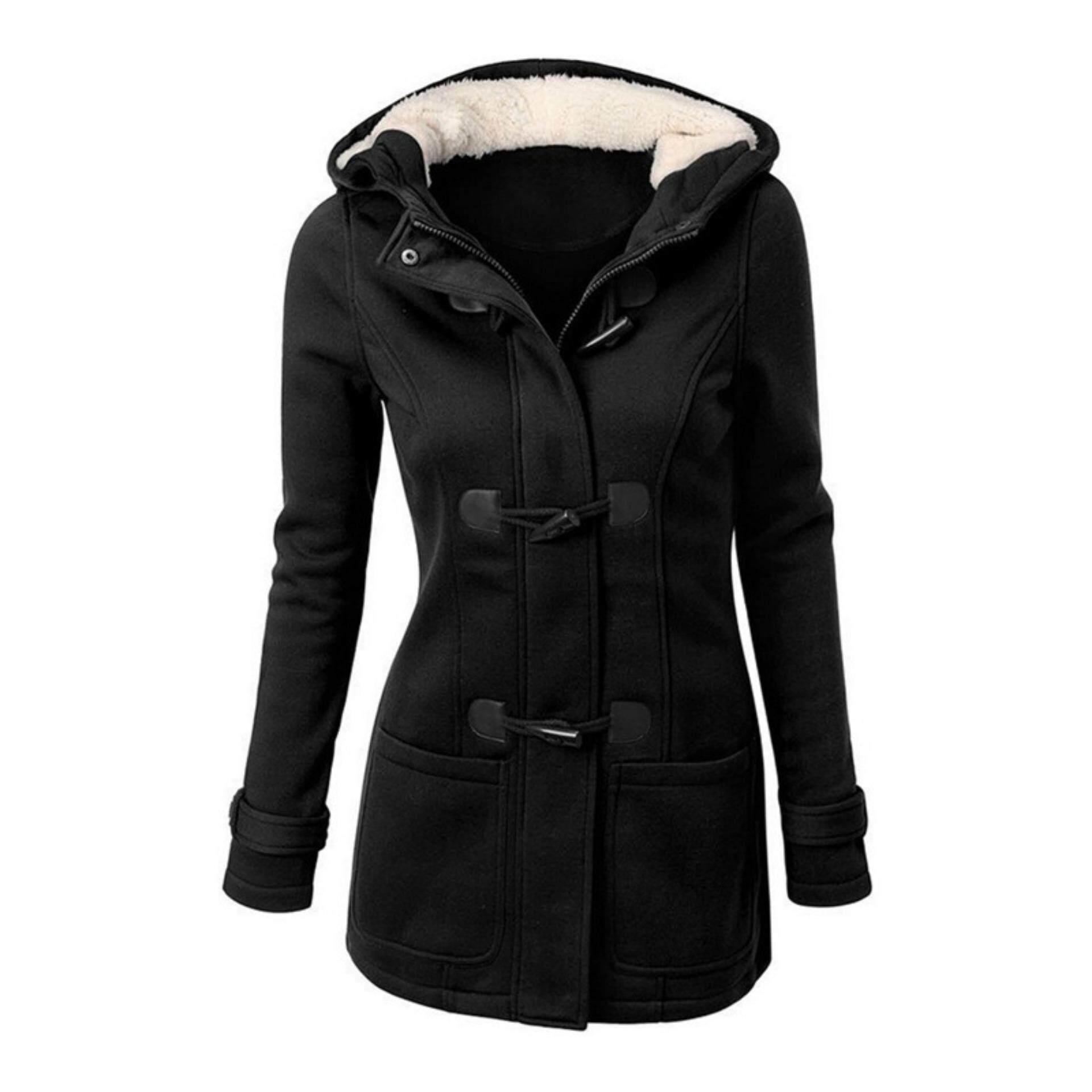 79d1b1b6eb355 Double-Breasted Winter Coat Women Jacket Coat Hoodies Parka Female Winter  Autumn