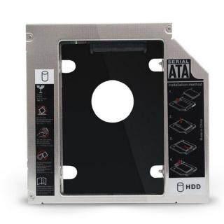 Giá Đỡ Ổ Đĩa Cứng CD-ROM Máy Tính Xách Tay SATA3 Hợp Kim Nhôm 9.5Mm Khay Đựng SSD thumbnail