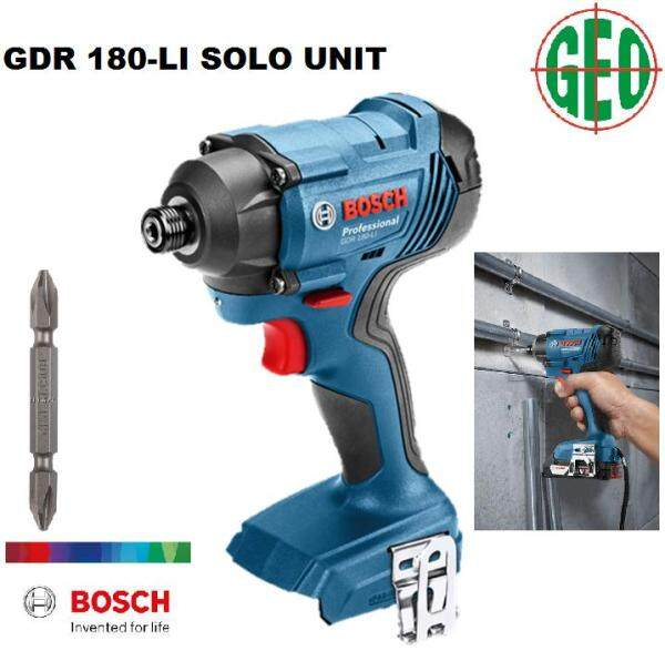 Bosch GDR 180-Li Cordless Impact Driver - SOLO Unit without Battery & Charger