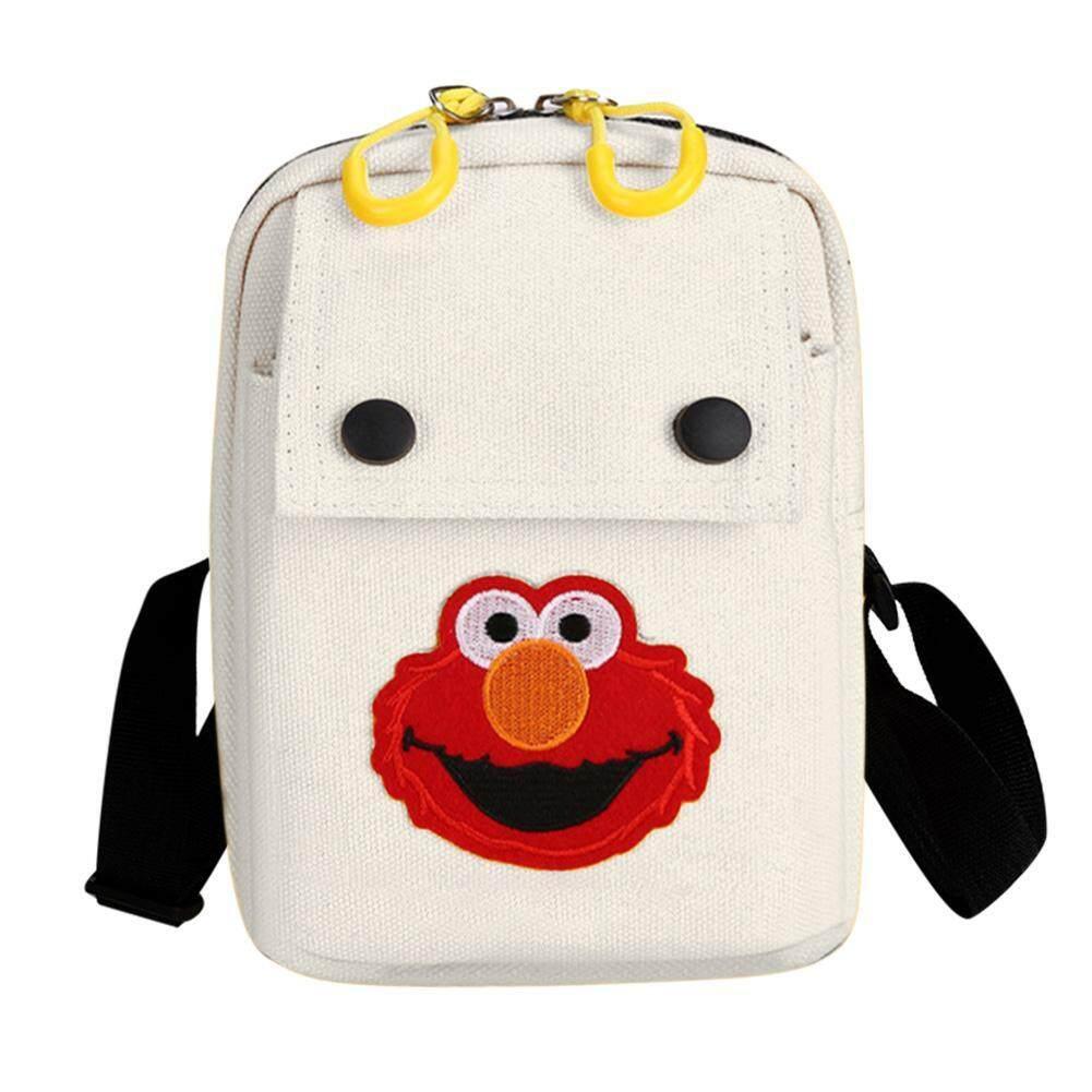 Giá bán 「winnereco」Cartoon Pattern Shoulder Messenger Handbags Women Canvas Crossbody Bags