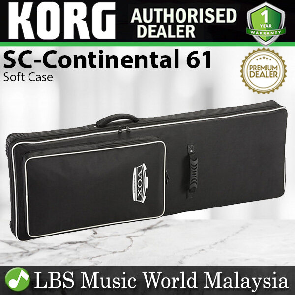 Korg SC-Continental 61 Soft Case Padded Bag for VOX Continental 61 Key Keyboard (SC Continental) Malaysia