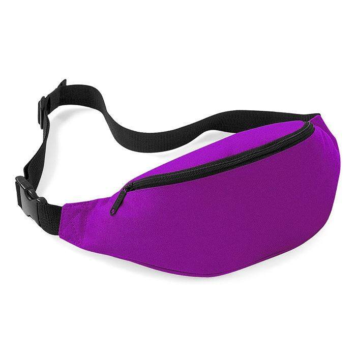 Bigskyie Unisex Bag Travel Handy Hiking Sport Fanny Pack Waist Belt Zip Pouch Black image on snachetto.com