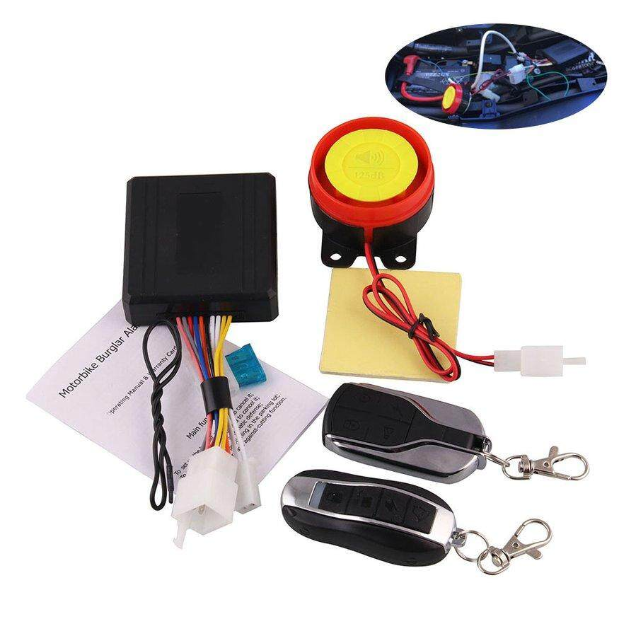 OSMAN Motorcycle Alarm System Anti-Theft Protection Remote Control Engine Start